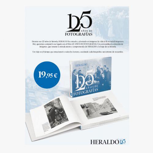 Libro 125 años de fotografías Heraldo de Aragón