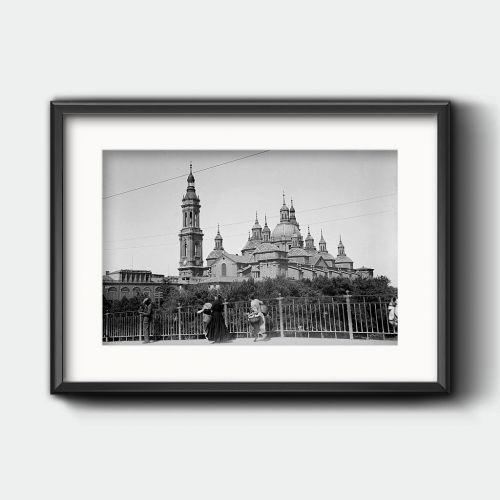 El Pilar de Zaragoza, sin torres