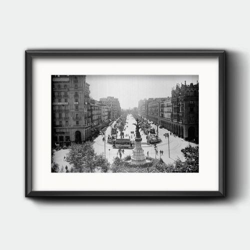 El paseo Independencia en los años 30