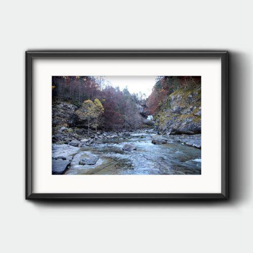 Río en el Valle de Ordesa