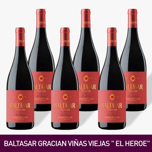 BALTASAR GRACIAN VIÑAS VIEJAS -EL HEROE, BODEGAS SAN ALEJANDRO DE UVA GARNACHA [Precio por 1 botella: 9.83€]