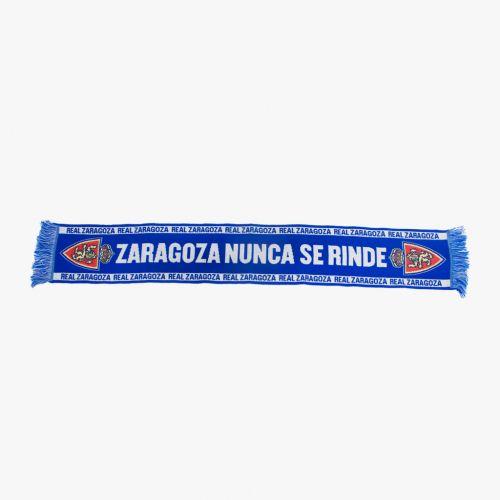 Bufanda Real Zaragoza NUNCA SE RINDE