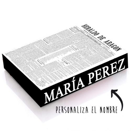 CAJA XL PORTADA HERALDO - Guarda tus periódicos y recuerdos