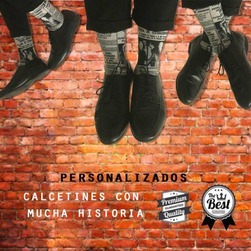 CALCETINES PERSONALIZADOS PORTADA HERALDO