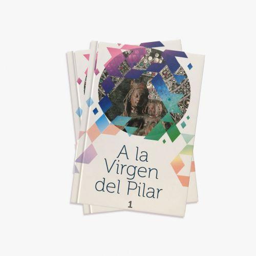COL 2 LIBROS A LA VIRGEN DEL PILAR CON SU CD CANCIONES E HIMNO A LA VIRGEN DEL PILAR