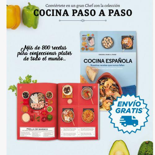 Colección libros de COCINA PASO A PASO [Del 1 al 9]