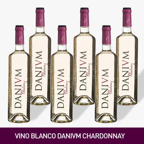 VINO DANIVM CHARDONNAY, BODEGA OBERGO NUEVA AÑADA 2020  [Precio por 1 botella: 4.83€]