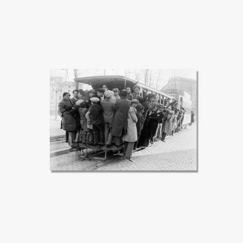 TRANVIA  1940  - FOTO EXPOSICIÓN 125 ANIVERSARIO