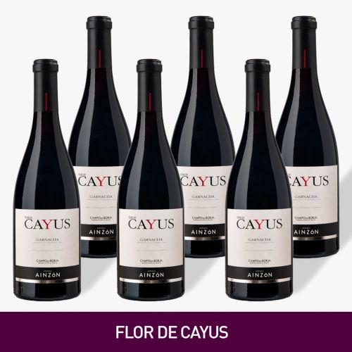VINO FLOR DE CAYUS, BODEGAS AINZONDE UVA GARNACHA  [Precio por 1 botella: 9.83€]
