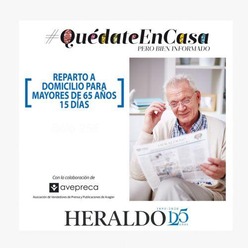 HERALDO EN CASA -15 DÍAS #QuédateEnCasa