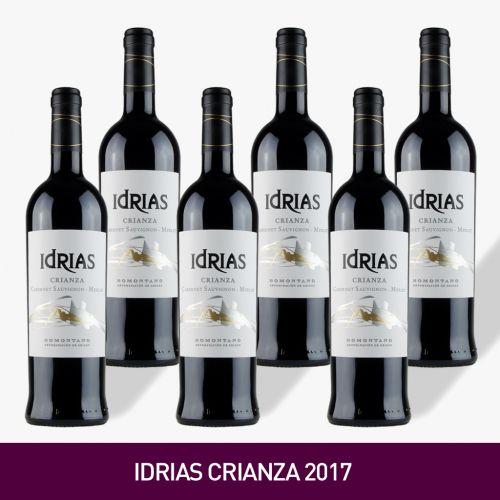 VINO IDRIAS CRIANZA 2017, BODEGAS IDRIAS  [Precio por 1 botella: 6.67€]