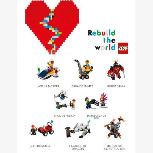 Colección 8 figuras Lego con Heraldo