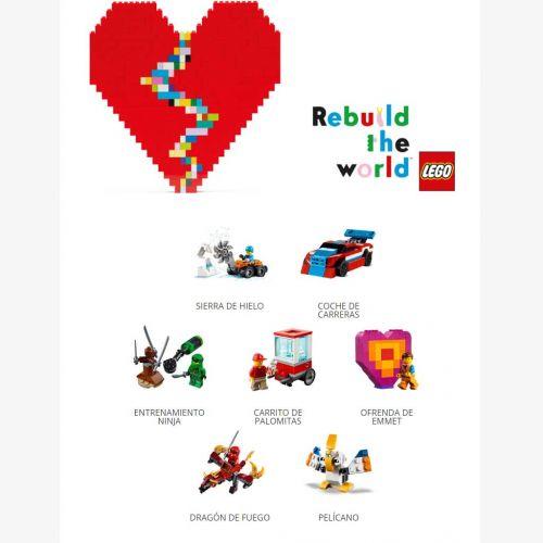 Colección 7 figuras Lego con Heraldo