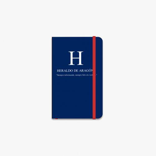 Libreta Heraldo de Aragón A6