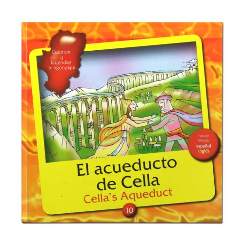 Cuento El acueducto de Cella + CD audiolibro bilingüe