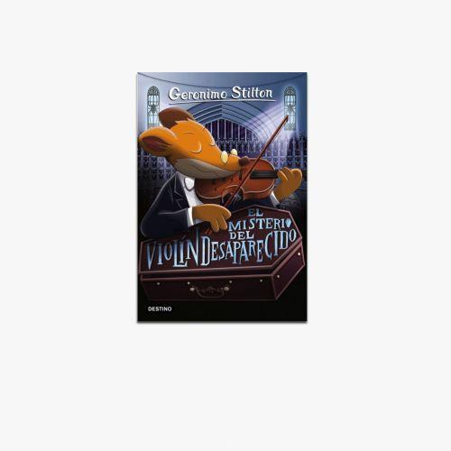 Libro El misterio del violín desparecido de Geronimo Stilton