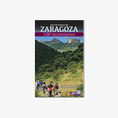 Libro Guía de montes de Zaragoza. 100 ascensiones