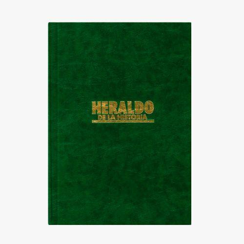 LIBRO HERALDO DE LA HISTORIA - Colección completa (2 tomos encuadernación lujo)
