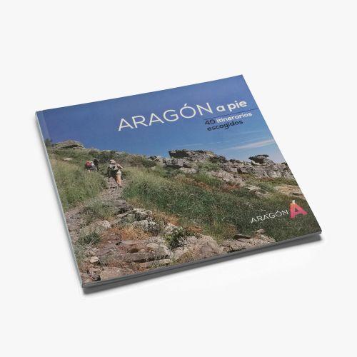 LIBRO ARAGON A PIE, 40 ITINERARIOS ESCOGIDOS