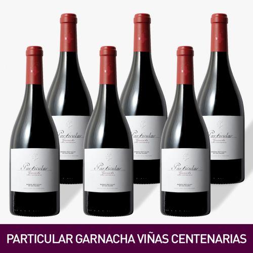 VINO PARTICULAR GARNACHA VIÑAS CENTENARIAS, BODEGA SAN VALERO [Precio por 1 botella: 11.17€]