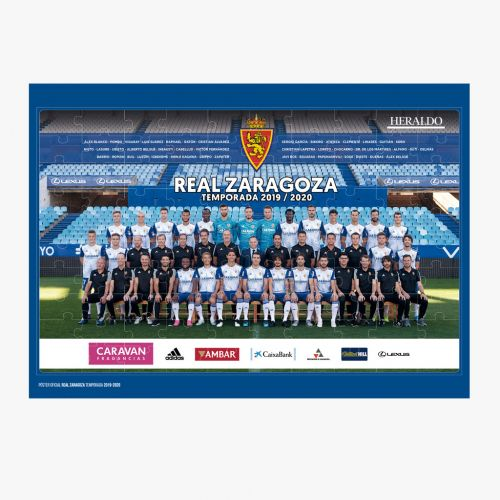 Puzzle Oficial Real Zaragoza 100 piezas