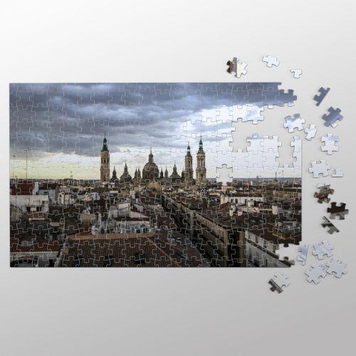 Zaragoza, desde el aire