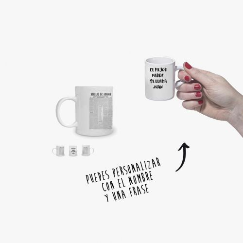 TAZA CAFÉ EXPRESO - PORTADA HERALDO