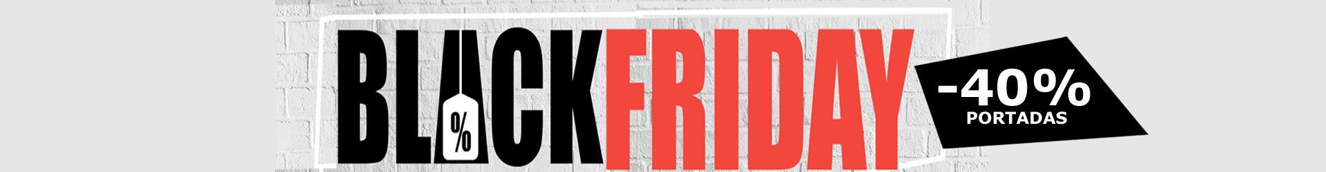 Del 19 al 25 disfruta del 40% de descuento por Black Friday