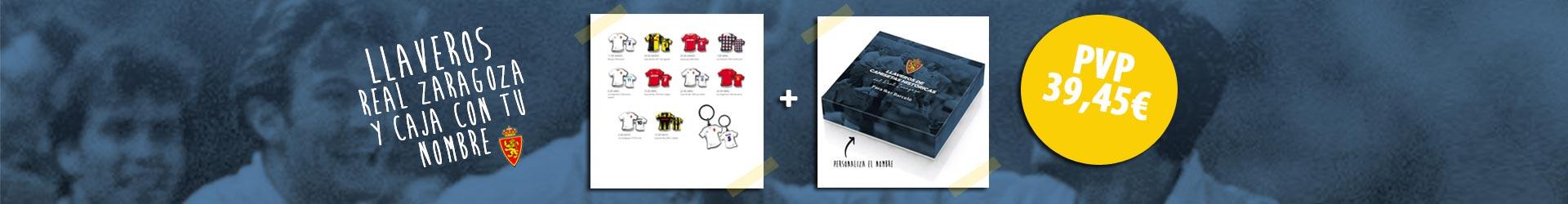 LLaveros camisetas históricas del Real Zaragoza