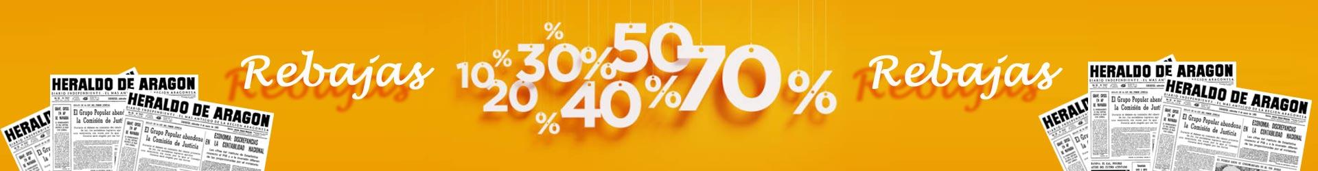 Rebajas con descuento hasta el 70%